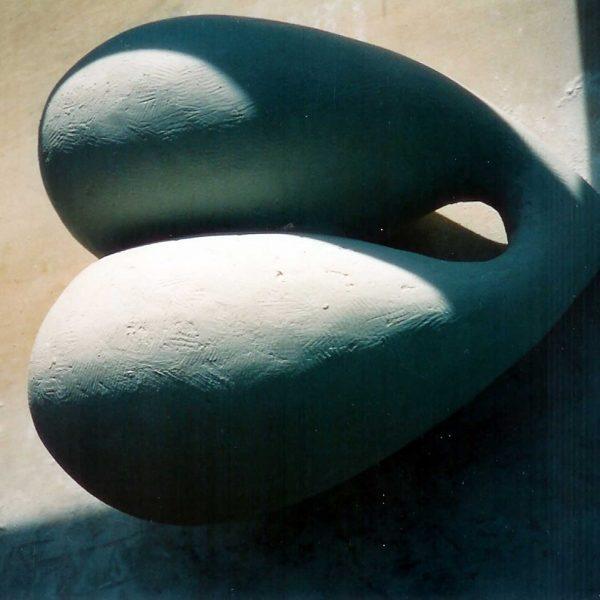 Körper (2), 1997, Gips