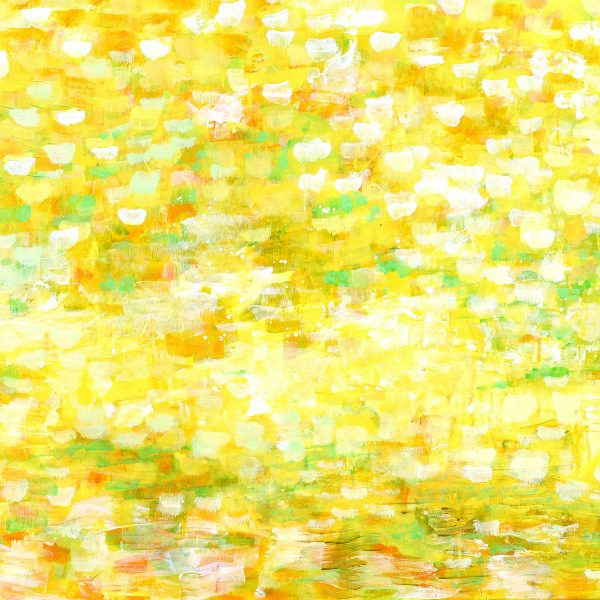 Licht und Waerme, 2017, 90x120cm, Acryl auf Leinwand